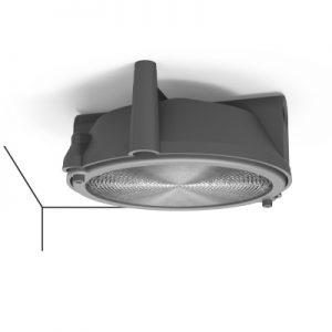 L' illuminazione coordinata al sistema, una linea dal carattere industrial rielaborata in chiave contemporanea con materiali di pregio